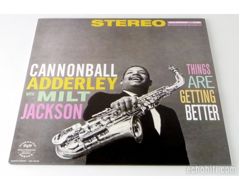 Analogue Productions Cannonball Adderley With Milt Jackson ‎- Things Are Getting Better