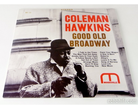 Analogue Productions Coleman Hawkins ‎� Good Old Broadway
