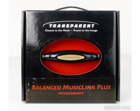 Transparent Balanced MusicLink Plus