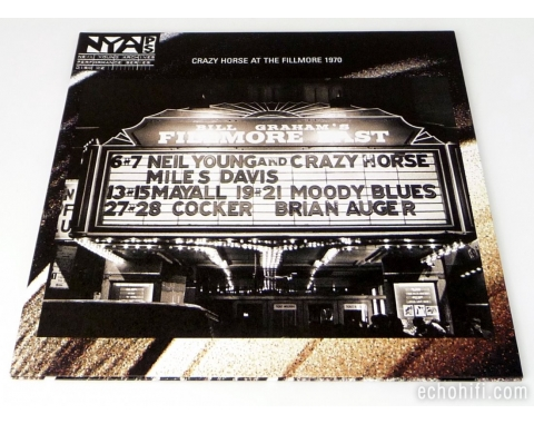 Reprise Neil Young & Crazy Horse ‎� Live At The Fillmore East