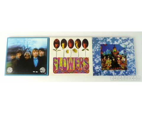 abkco Rolling Stones - Their Satanic Majesties.., Flowers, & Between the Buttons