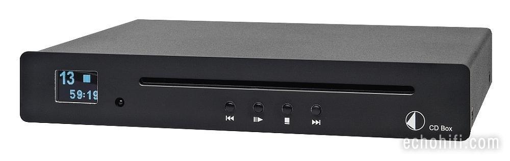 echo audio pro ject cd box s. Black Bedroom Furniture Sets. Home Design Ideas