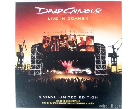 Columbia Records David Gilmour - Live in Gdansk