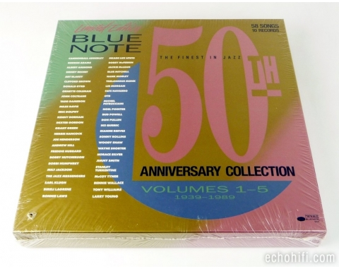 Blue Note Various ‎� Blue Note 50th Anniversary Collection - Volume 1-5 From Boogie To Bop