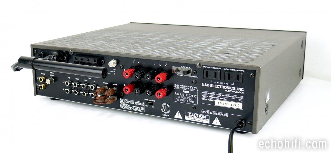 Echo Audio | NAD 7240PE